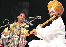 Flutist Ravinder Singh